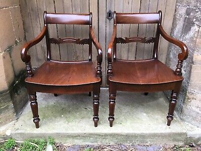 Pair William IV Chairs
