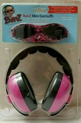 Banz Mini Earmuffs Protection Set. For Children 3 Month.hearing & Sun Protection