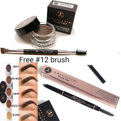 Anastasia Beverly Hills Brow Definer Pencil plus Eyebrow Pomade and Free #12 B