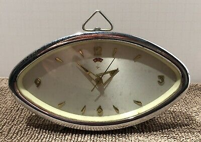 VINTAGE CHINA ALARM CLOCK DIAMOND SHANGHAI  MECHANICAL WIND UP For Parts