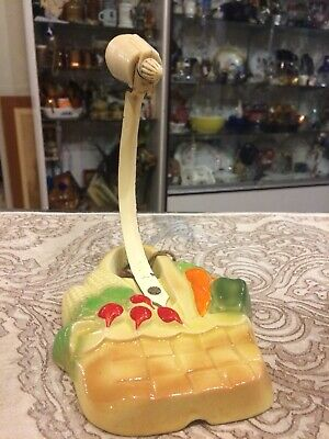 Vintage Antique 1940's Wall Light Sconce Kitchen Vegetable Farmhouse Lamp