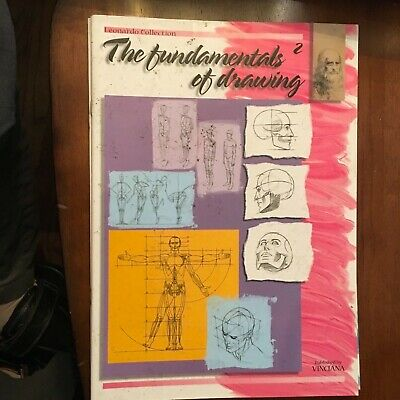 """FUNDAMENTALS OF DRAWIN""2, ARTIST BOOK, FULL Of Learning 2 DRAW"