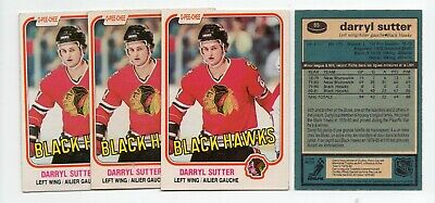 1X DARRYL SUTTER 1981 82 O Pee Chee #65 RC Rookie NM-NMMT opc Lots Availab KINGS