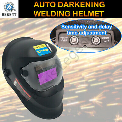 Solar Power Auto Darkening Welding Helmet ARC/TIG/MIG Welder Machine Mask