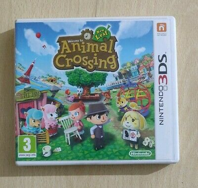 Animal Crossing New Leaf Nintendo 2Ds 3Ds Italiano Come Nuovo Completo