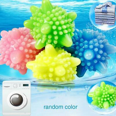 4 X Reusable Tumble Laundry Washing Dryer Balls Clothes Scrubber Soften Fabric ^