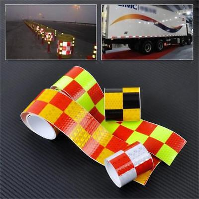 Reflective Tape Car Truck Safety Warning Conspicuity Adhesive Decal GR