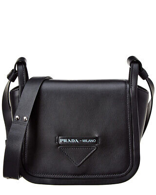 efe0d83cb4f54f PRADA GRACE LUX Concept shoulder hand bag 1BA175 leather White/Black ...
