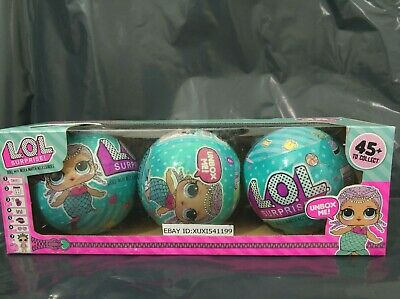3Pcs L/O/L 7 Surprises! 45+ To Collect Doll With Mix & Match Accessories