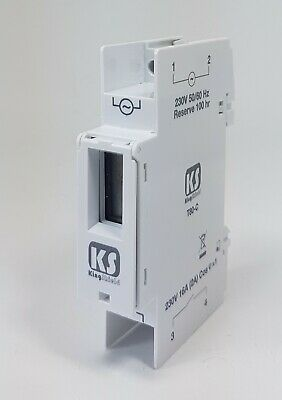 KS King Shield T80C 1 Digital Compact Timer Din Rail Mounting 24h 7 Day 16A Amp