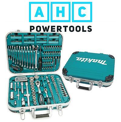 Makita 227 Piece General Maintenance Spanner Socket Screwdriver Bit Set P-90532