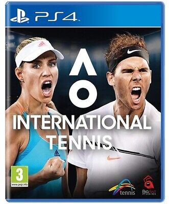 Ao International Tennis Videogioco Ps4 Gioco Playstation 4 Uk Italiano Nuovo