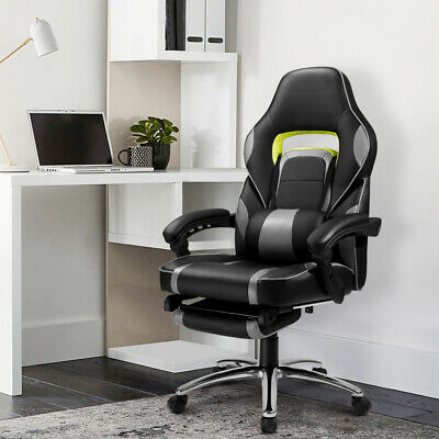 Ergonomic Computer Office Chair High Back Lumbar Support luxury racing chair