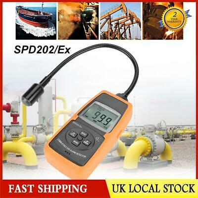 SPD202/EX Digital Combustible Gas Detector Natural LPG Coal Alarm Tester Meter