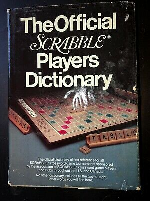 The Official Scrabble Players Dictionary (Hardcover, 1978)