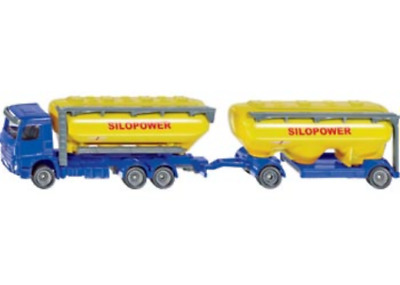 Siku 1/87 Truck with Feedstuff Silo  - Brand New