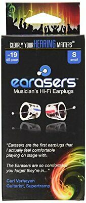 EARasers Musician's HiFi Earplugs (Small)