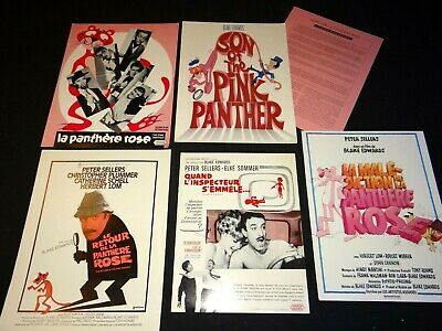 LA PANTHERE ROSE The Pink Panther  peter sellers lot synopsis  cinema