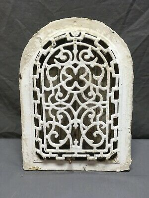 Antique Arched Top Heat Grate Wall Register Decorative Arch 8x12 01-19R