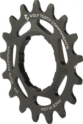 """Wolf Tooth Components Single Speed Bike 18t Cog 3//32/"""" Purple"""