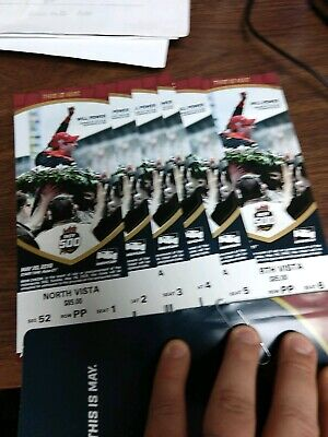 2 tickets Indy 500 North Vista, AISLE 2 rows from top, GREAT VIEW, FREE SHIPPING