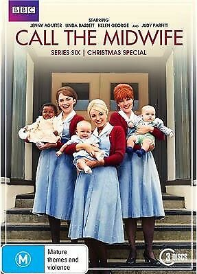 Call The Midwife series complete season 6 new DVD set region 4 R4