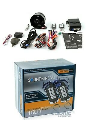 Audiovox Prestige APS25Z Standard Car Security Alarm System