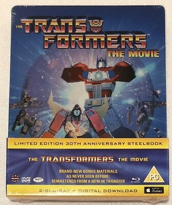 The Transformers The Movie Steelbook - 30th Anniversary Limited Edition Blu-Ray