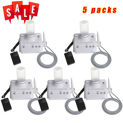 5X NEW Dental Ultrasonic Piezo Scaler Handpiece Tips Fit DTE SATELEC K-UK