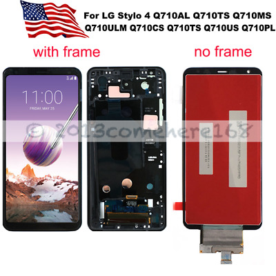 OEM For LG Stylo 4 LCD Display Touch Screen Digitizer Frame Assembly Replacement