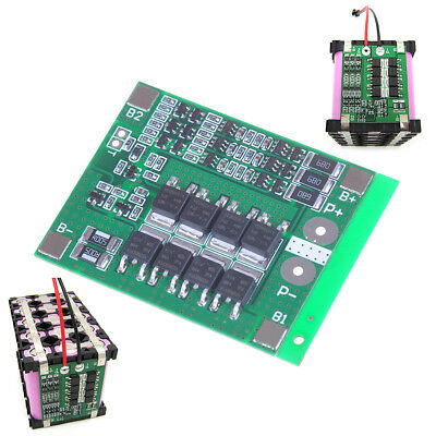 3S 25A protection PCB board W/balance BMS for 18650 Li~ion lithium ,battery~cell