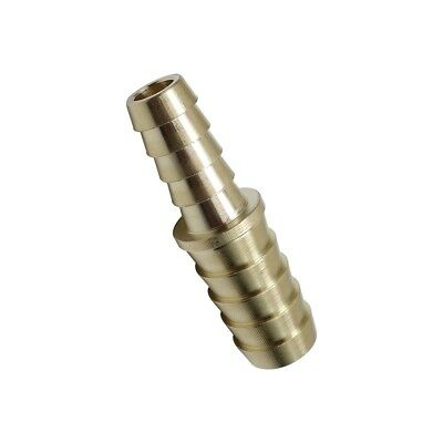 """3pcs  Brass Barb Fitting Splicer Mender Coupling 3/8"""" x 1/2"""" Hose ID Air  Water"""