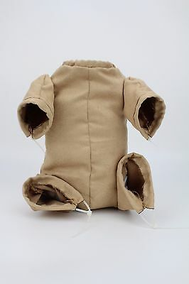"""New Reborn Baby Dolls Doe Suede Bodies for 22"""" Newborn Doll Kits With 3/4 Limbs"""
