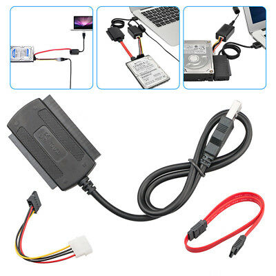 SATA/PATA/IDE to USB 2.0 Adapter Converter Cable for Hard Drive DiskZK KY