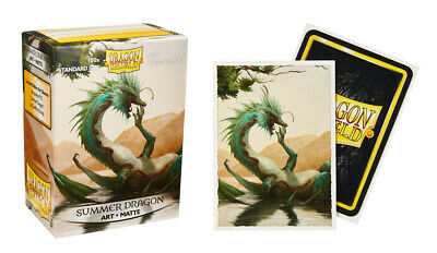 Dragon Shield Summer Dragon Matte Card Protector Sleeves Limited 100ct In Stock