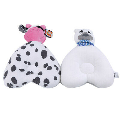 Kids Bear Shaped Pillow Shaping Pillow Syndrome Prevention Head Baby Pillow DM