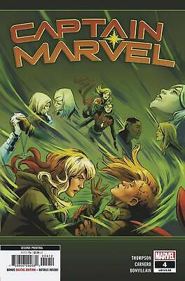 Captain Marvel #4 2Nd Ptg Carnero Var Marvel Comics