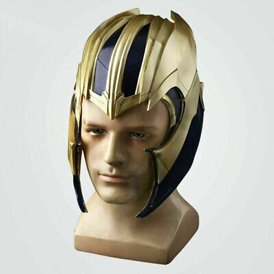 Thanos Helmet Cosplay Avengers 4 Endgame Mask Superhero Full Head PVC Mask Props