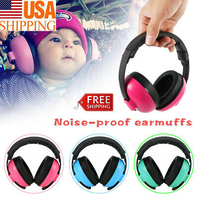 Baby Earmuffs Ear Hearing Protection Noise Cancelling Headphones For Kids