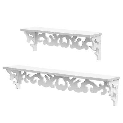 Floating Home Decor Scrollwork Design Shelves Wall Mounted  Home Decor
