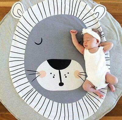 Baby Game Crawling Cotton Mat Soft Kids Children Rug Carpet Blanket Playmat