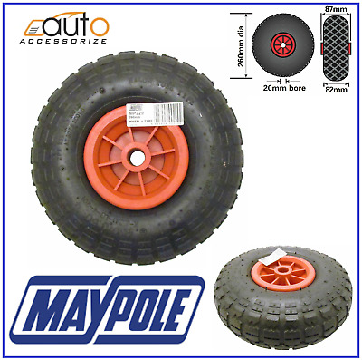 Mp229 260mm Pneumatic Wheel For Mp437 Maypole Trailer Jockey Wheel Spare Tyre