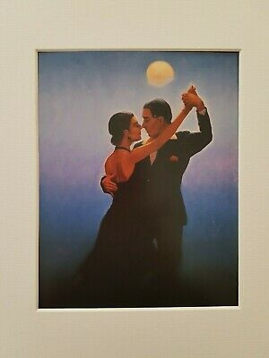 Jack Vettriano Tango Dancers Mounted Art Print Special Offer NEW