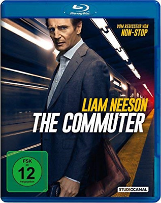 Neeson,Liam/Farmiga,Vera-The Commuter - (German Import) Blu-Ray Nuevo
