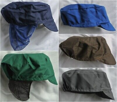 Food Hygiene Pork Pie Cap Different Colours With / Without Hair Snood Bakers Hat