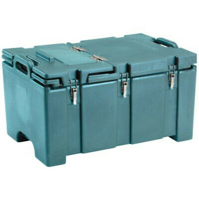 Cambro 100MPCHL401 Full Size Pan Capacity Camcarrier Food Carrier (Slate Blue)