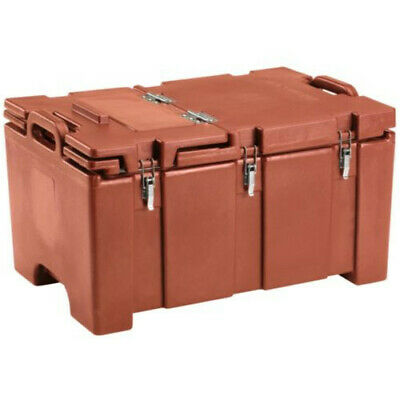 Cambro 100MPCHL402 Full Size Pan Capacity Camcarrier Food Carrier (Brick Red)