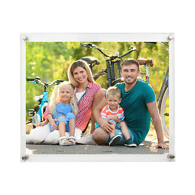 Document Frame Acrylic Sign Holder  - Wall Mount - 11x14
