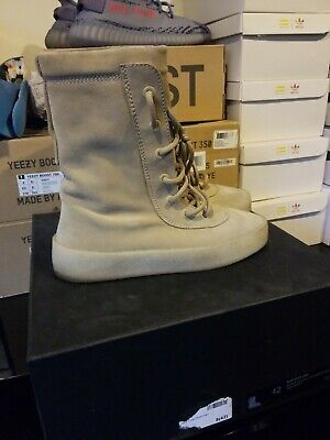 22e125b87019f Yeezy Season 2 Crepe Boot Size 9 US EUR Luxury Taupe Suede Kanye West