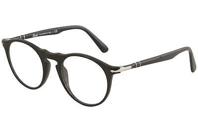 702cbde96d61a Persol Women s Eyeglasses PO3201V PO 3201 V 95 Black Full Rim Optical Frame  51mm